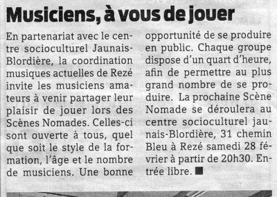 20090228 - Presse Océan - Scènes Nomades - Noir et blanc