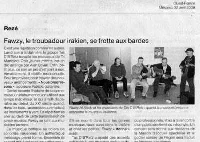 20090422 - Ouest France Nantes - Fawzy