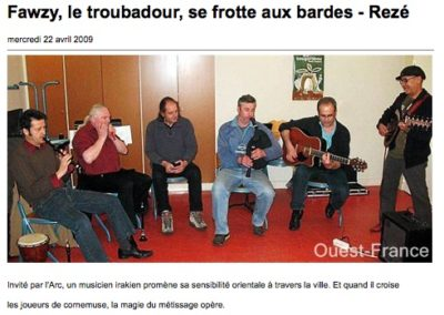 20090422 - Ouest France web - Fawzy
