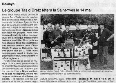 20100511 - Ouest France - Gouel Erwan St Brévin