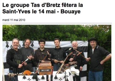 20100511 - Ouest France web - Gouel Erwan St Brévin