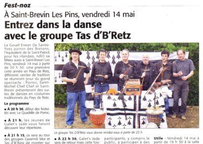 20100514 - Courrier Pays de Retz - Gouel Erwan St Brévin