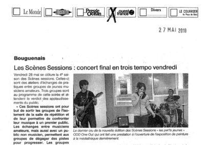 20100527 - Ouest France - Scènes Sessions