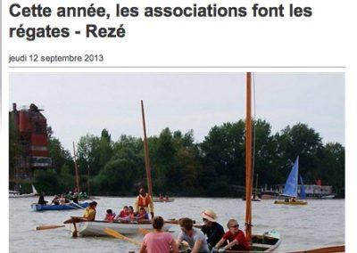 20130912 - Ouest France web - Régates de Rezé