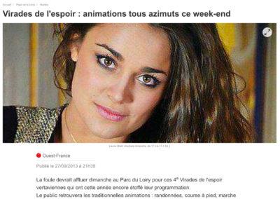20130927 - Ouest France web - Virades de l'espoir