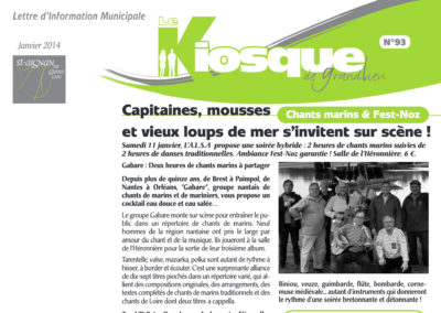 20140101 - Le Kiosque de Grandlieu - Soirée bretonne