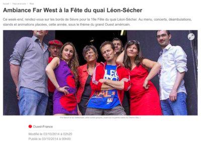 20141003 - Ouest France web - Fête du Quai Léon Sécher