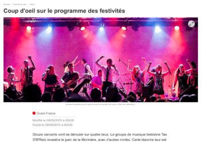 20150909 - Ouest France web - Fête du Quai Léon Sécher
