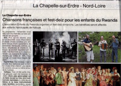 20160116 - Ouest France - Fest deiz Enfants du Rwanda