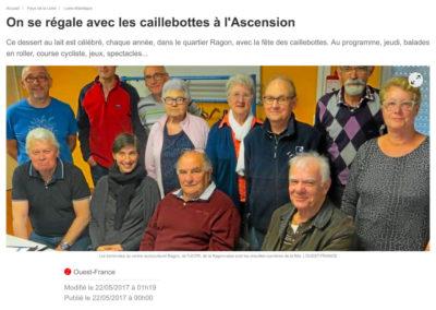 20170522 - Ouest France web - Fête des Caillebottes