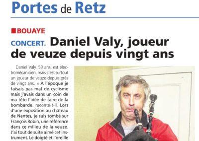 20181005 - Le Courrier du Pays de Retz - Daniel Valy joueur de veuze depuis 20 ans