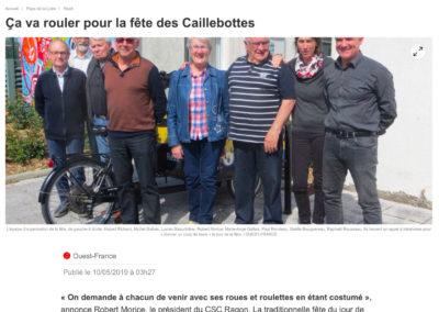 20190510 - Ouest France web - Fête des Caillebottes