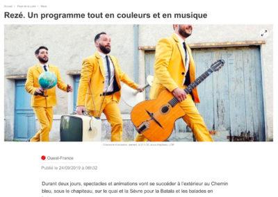 20190924 - Ouest France web - Fête du Quai Léon Sécher