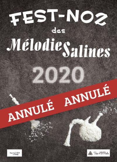 Annulation fest-noz Mélodies Salines 2020